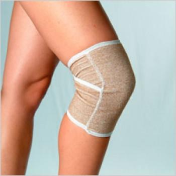 Бандаж компрессионный на коленный сустав (наколенник комбинированный)