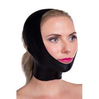 Маска для коррекции овала лица с компрессией на подбородок уши щеки FMF