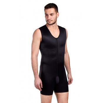 Мужской комфортный бандаж для груди, живота и бедер со штанами MGMC