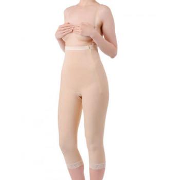 Длинный корректирующий бандаж - штаны на тонких лямках