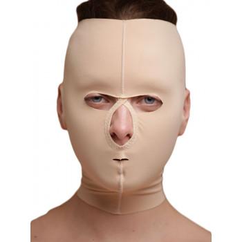 Маска закрытая после операций липосакции зон лица, подбородка, шеи, подтяжки, нитей, фейслифтинга