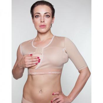 Бандаж - повязка закрытая после мастэктомии с подкладкой (арт 140-Н)