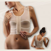 Компрессионный бюстгальтер после увеличения груди, без стабилизатора-стяжки (артикул 120)