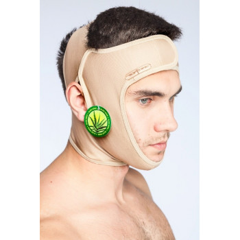 Компрессионная мужская маска для лица, головы (артикул 200)
